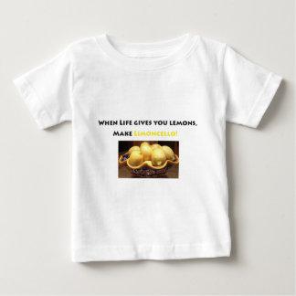 lemons, lemon lover, limoncello, Italian, liquor Baby T-Shirt