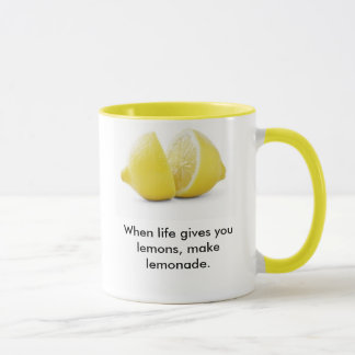 Lemons Lesson ! Mug