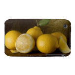 lemons on wood iPhone 3 cases