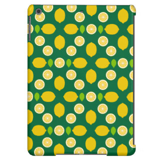 Lemons Pattern Art (Exclusive) Cover For iPad Air