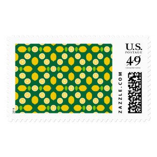 Lemons Pattern Art (Exclusive) Postage