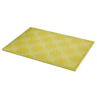 Lemons Pattern Cutting Board