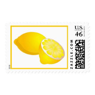 Lemons Postage Stamps