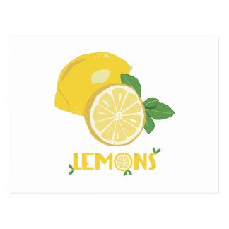 Lemons Postcard