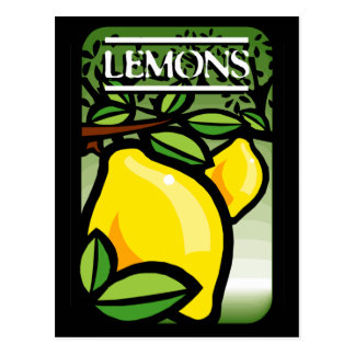 Lemons Postcards