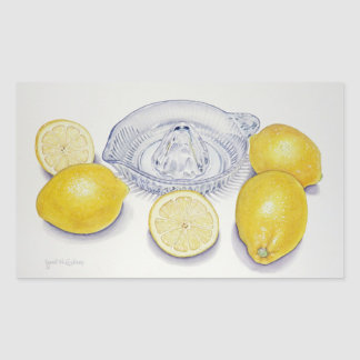Lemons Rectangular Sticker