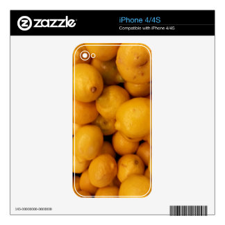 Lemons Skins For The iPhone 4S