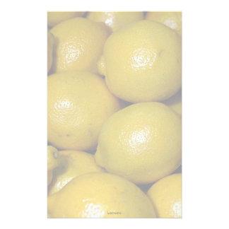 Lemons Customized Stationery