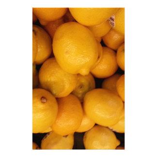 Lemons Stationery Design