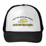 Lemons... Tequila Trucker Hats