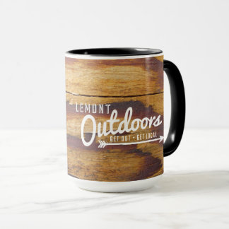 Lemont Outdoors Mug – choppin' trees edition