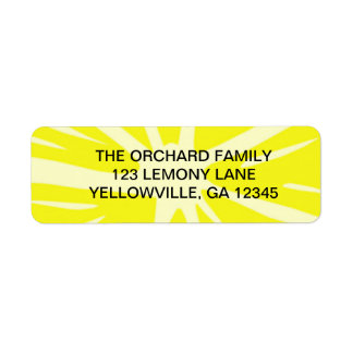 Lemony Goodness Label