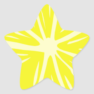 Lemony Goodness Star Sticker