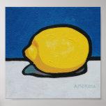 Lemony Lemon Poster