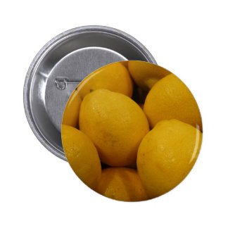 Lemony Lemons Pinback Button