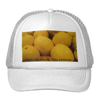 Lemony Lemons Trucker Hat