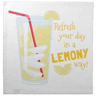 Lemony Way Napkin
