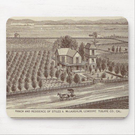 Lemoore, Armona ranches Mouse Pad