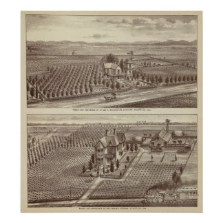 Lemoore, Armona ranches Posters