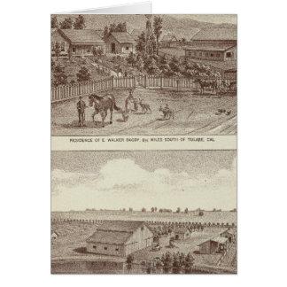 Lemoore, ranchos 2 de Armona Tarjeta