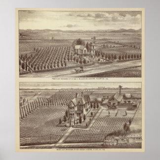 Lemoore, ranchos de Armona Poster
