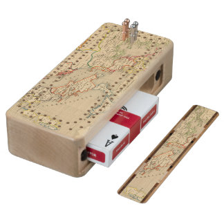 L'Empire d'Orient, l'Italie, 1200 a 1300 Wood Cribbage Board