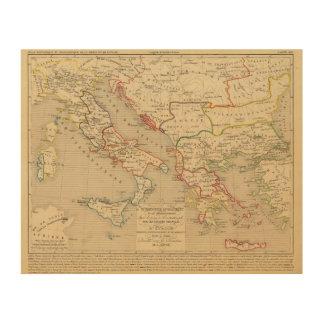 L'Empire d'Orient, l'Italie, 1200 un 1300 Cuadro De Madera