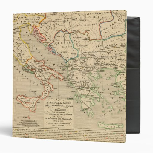 L'Empire Grec, l'Italie, 1002 un 1125