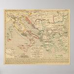 L'Empire Grec, l'Italie, 1002 un 1125 Poster