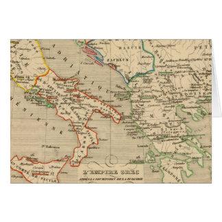 L'Empire Grec, l'Italie, 1002 un 1125 Tarjeton