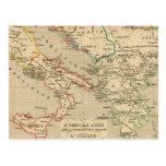 L'Empire Grec, l'Italie, 1002 un 1125 Tarjeta Postal