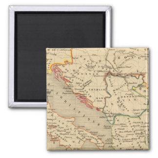 L'Empire Grec, l'Italie, 1125 a 1200 Magnet