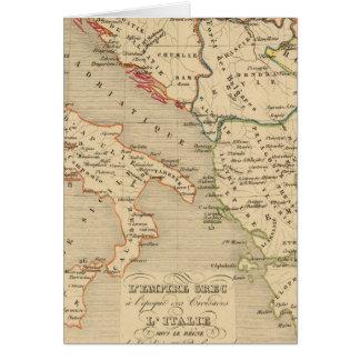 L'Empire Grec, l'Italie, 1125 un 1200 Felicitacion