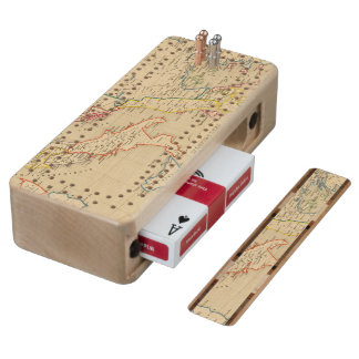 L'Empire Grec, l'Italie, 1300 a 1400 Cribbage Board