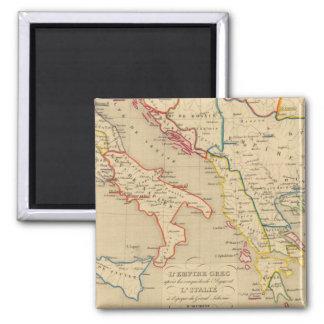 L'Empire Grec, l'Italie, 1300 a 1400 Magnet