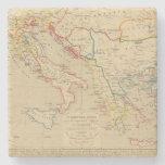 L'Empire Grec, l'Italie, 1300 un 1400 Posavasos De Piedra