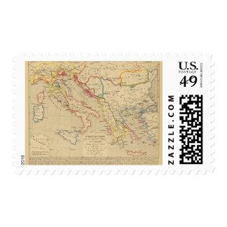 L'Empire Grec, l'Italie, 1300 un 1400 Franqueo
