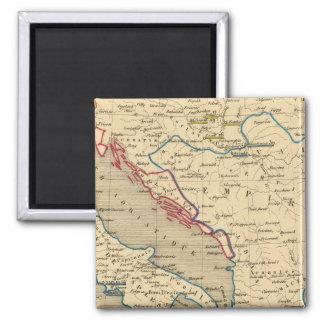 L'Empire Ottoman, la Grece et l'Italie Magnet