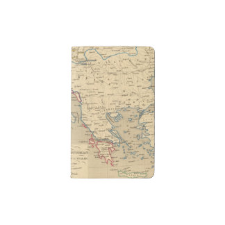 L'Empire Ottoman, la Grece et l'Italie Pocket Moleskine Notebook Cover With Notebook