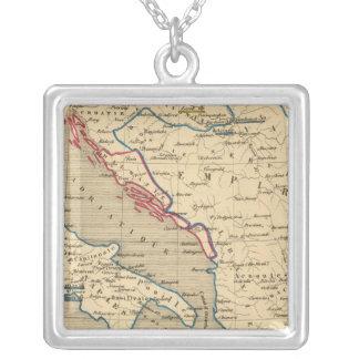L'Empire Ottoman, la Grece et l'Italie Silver Plated Necklace