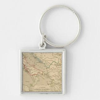 L'Empire Romain d'Orient, Royaume des Lombards Keychain