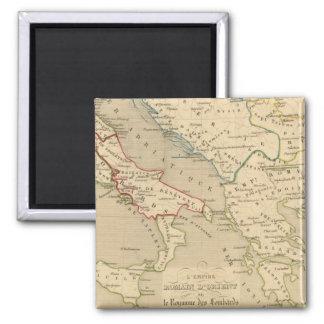 L'Empire Romain d'Orient, Royaume des Lombards Fridge Magnet