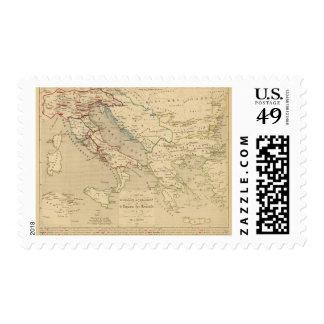 L'Empire Romain d'Orient, Royaume des Lombards Stamps