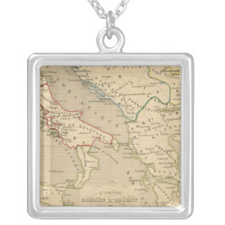L'Empire Romain d'Orient, Royaume des Lombards Silver Plated Necklace