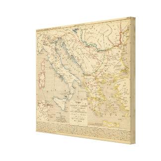 L'Empire Romain d'Orient, Roye des Ostrogoths Canvas Print