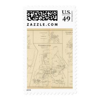 Lempster, Washington, Goshen Stamps