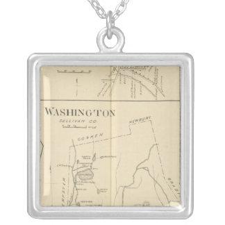 Lempster, Washington, Goshen Silver Plated Necklace