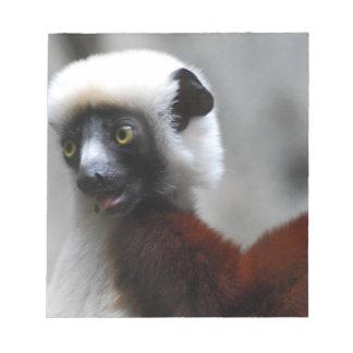Lemur adorable de Safika Blocs De Papel