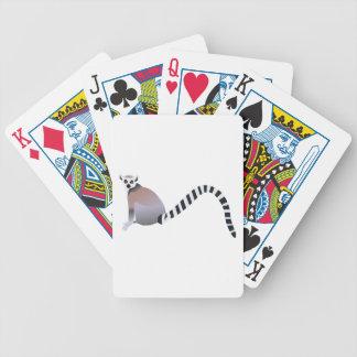 Lemur Anillo-Atado Baraja Cartas De Poker