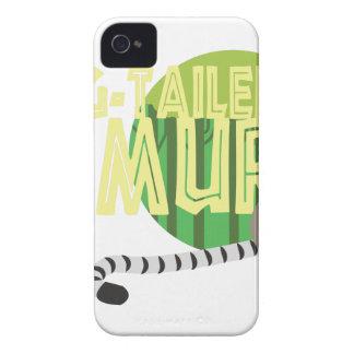 Lemur Anillo-Atado iPhone 4 Case-Mate Funda